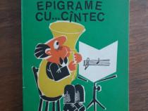 Epigrame cu...cantec - Victor Macarevici, autograf / R6P1S