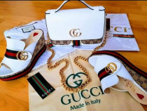 Set Gucci, saboti si geanta new model /Italia