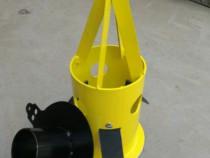 Dispozitiv golire saci big bag cu adaptor pt furtun metalic
