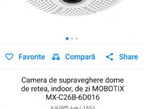 Camera de supraveghere Mobotix C26 IP, 6MP, 360 grade