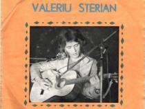Disc vinil 45 Valeriu Sterian Cu iubirea de moșie1977, uzat