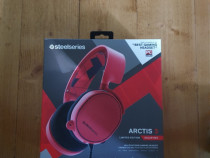 Casti Gaming SteelSeries,Arctis 3,Solar Red,Limited Edition