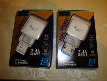 Incarcator telefon fast charger quick charge 3.0 USB 2.4A
