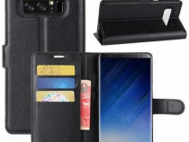 Husa Telefon Wallet Case Samsung Galaxy Note 8 n950 Black
