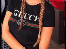 Tricouri Gucci import Italia bumbac cu licra