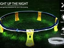 Set roundnet (spikeball) Blinngo cu banda LED alb/ albastru