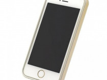 Husa telefon Bumper Plastic Apple iPhone 5 5s SE gold&white