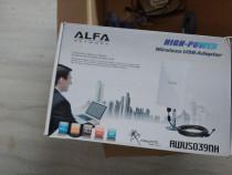 Antena Wi-Fi Alfa Network de putere mare - 800 metri