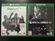 Jocuri Xbox One Mortal Kombat XL, Outlast Trinity