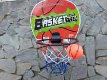 Set baschet pentru copii cu panou cos minge si plasa Basketb