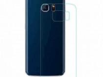 Folie protectie sticla securizata spate Samsung S6 Edge