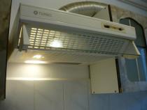 Hotă perete Turbo, 115 W, 3 viteze, 60 cm, iluminare