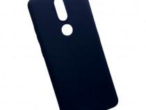 Husa Telefon Silicon Nokia 2.4 Matte Dark Blue PRODUS NOU