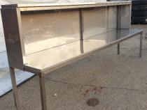 Tejghea din INOX masa terasa laborator catering bucatarie