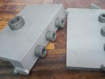 Sablon mobila demontabili minifix15 34mm duraluminiu forma L