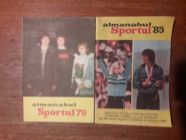 Almanahul Sportul 1979 + 1985 / R2P5S