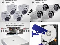 Cel mai ieftin sistem de supraveghere video cu montaj inclus
