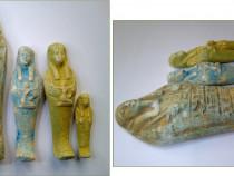 4 statuete egiptene din teracota arsa (2)