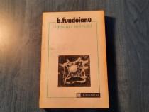 Constiinta nefericita de B. Fundoianu