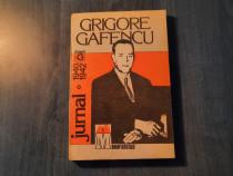 Jurnal 1940 - 1942 Grigore Gafencu