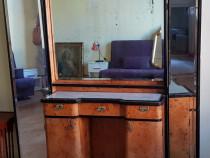 Oglinda de toaleta cu sertare , mobila antica !
