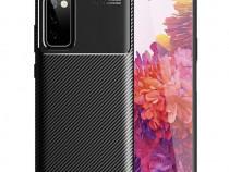 Samsung A12 A32 A41 A42 A52 A72 - Husa Silicon Carbon Neagra