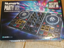 Numark party mix dj controller with built-in light show