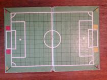 Plansa joc vintage de fotbal Mondial / C37G