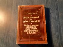 Arta feudala in Tarile romane I. D. Stefanescu