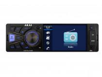 Radio MP3 Player auto Akai , display 4 inch,bluetooth
