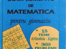 I. Patrascu - Complemente de matematica pentru gimnaziu