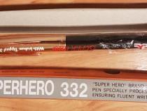 Stilou Super Hero 332 nou, in tipla si cutie anii '80