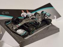 Macheta Mercedes F1 W10 Formula 1 2019 Bottas - Bburago 1/43
