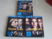 HOMELAND Sezonul 1, 2 si 3 - 9 Blu-ray - ca NOI