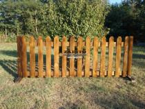 Gard din lemn - mutabil - gard cu talpa pt orice loc