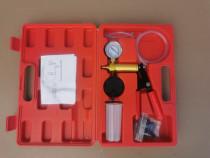Pompa auto pentru vacuum - vid - presiune cu adaptoare