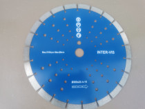 Disc diamantat segmentat 300 x 25,4 mm INTERVIS