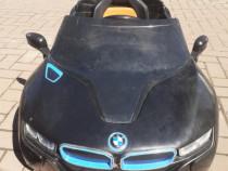 Mașinuță electrică copii BMW telecomandă, 2 baterii