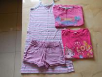 Lot hainute de vara pentru fete de 6 - 7 ani