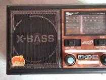 Radio portabil 3 lungimi de unda AM,FM,SW(USB,cardSD,mp3,lan