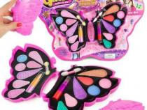 Set fard copii , make-up de jucarie forma fluture