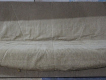 Canapea extensibila cu husa Pat cu Lada si Saltea 190x125