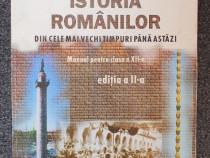 Istoria romanilor din cele mai vechi timpuri pana astazi