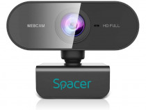 Camera web spacer senzor 1080p full-hd cu auto focus si rezo