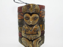 Statueta africana - Totem (cu vultur)