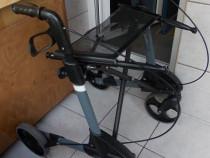 Rolator TOPRO TROJA,cadru mers aluminiu cu roti ortopedic