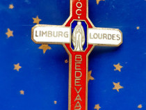 C587-I- Isnigna-Pelerinaj Fecioara Maria Limburg-Lourdes.