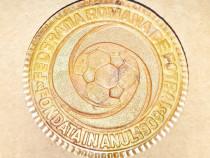 C617-Medalia F. R. Fotbal infiintata 1909 bronz aurit.
