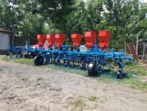 Cultivator prasitoare 7randuri cu fertilizare