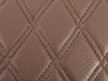 Material tapiterie auto cusuta romb diferite culori, perfora